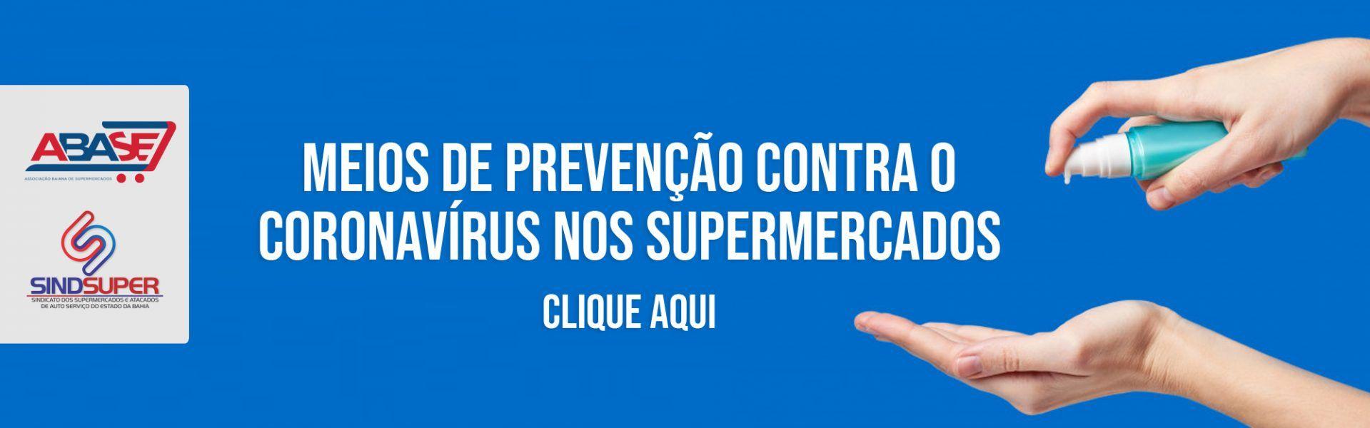 Meios de Prevenção Contra o Coronavírus nos Supermercados